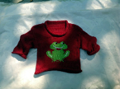 Sweater Red Frog